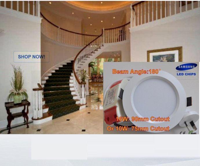 180 Degree Downlights