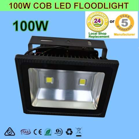 100W 240V COB LED Waterproof Outdoor Flood Light