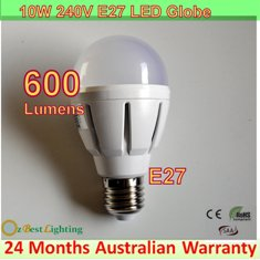 4 x 10W 240V E27 Warm White LED downlight bulb