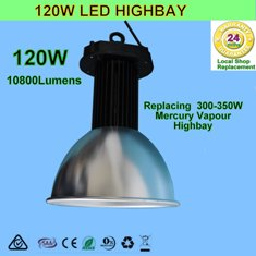 120W LED High Bay Lights