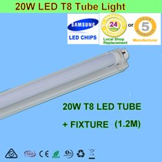 20W 1.2m LED T8 Tube Light