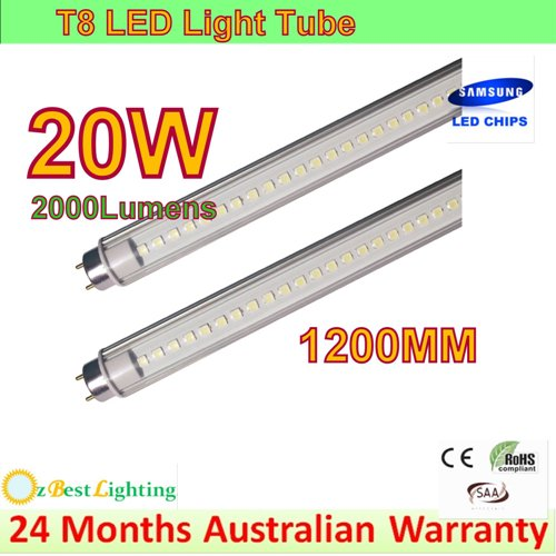2 X 20W T8 1.2m LED Light Tube